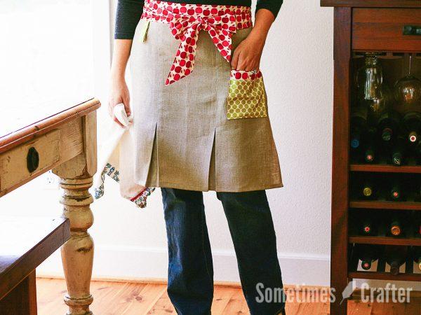 Sometimes Crafter Patterns // City Girl Apron Pattern