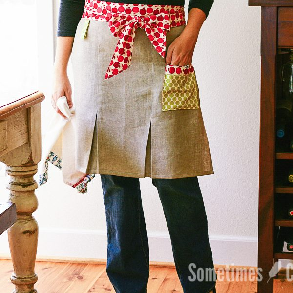 Sometimes Crafter Patterns // City Girl Apron Pattern