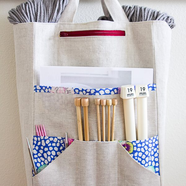Sometimes Crafter Patterns // Amanda's Knitting Bag