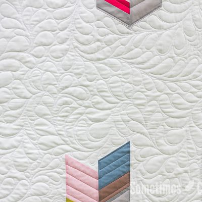 Sometimes Crafter // Feathered Nest Quilt Pattern