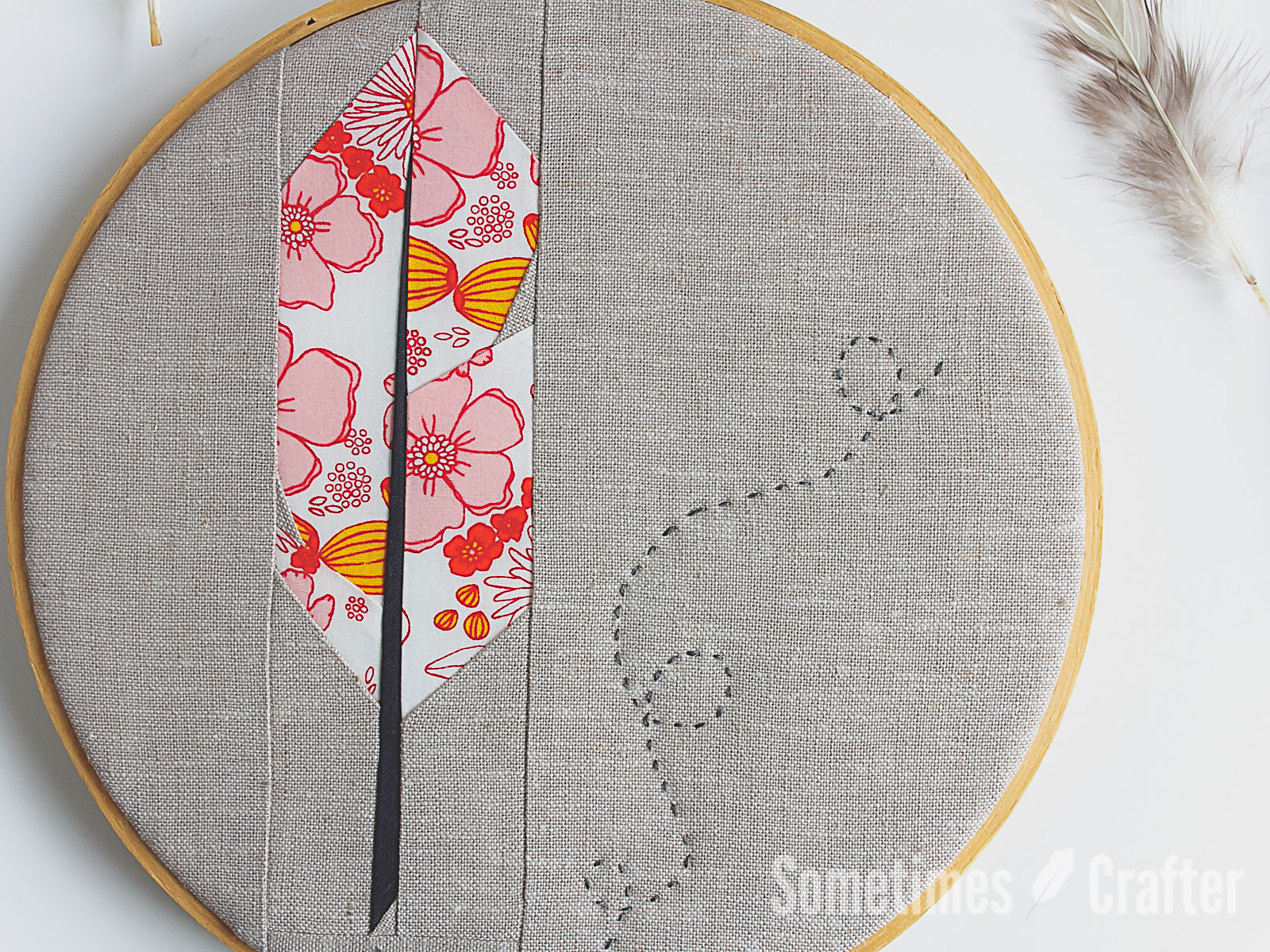 Feathers Fpp Pattern Sometimes Crafter