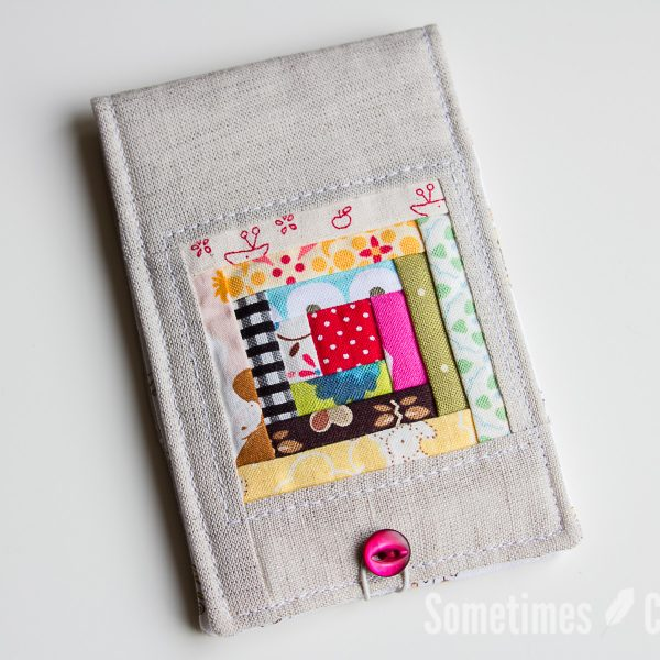 Sometimes Crafter // Log Cabin Needlebook Pattern