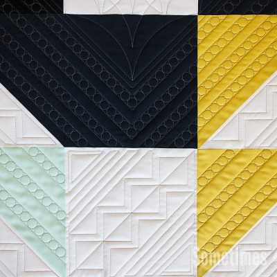Sometimes Crafter // Crown of Thorns Quilt Pattern
