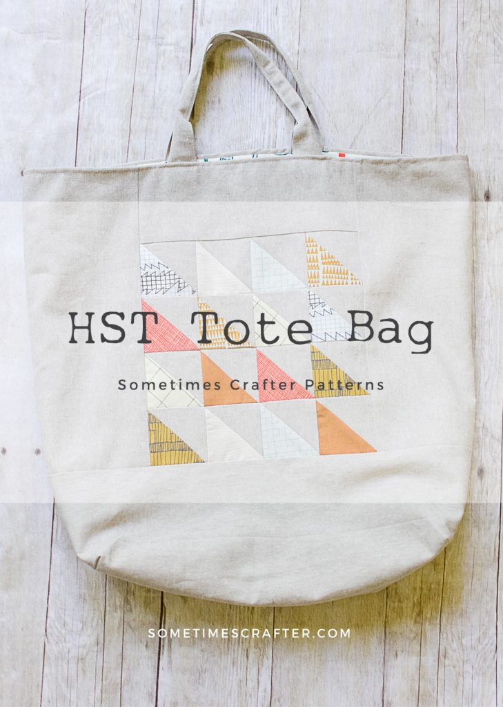 HST Tote Bag Pattern Sometimes Crafter