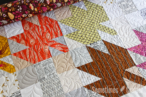 Sometimes Crafter Longarm Quilting - Darci Yaden Modern Maple