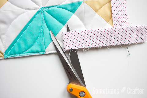 Sometimes Crafter // Joining Binding Ends With The Fons & Porter Tool