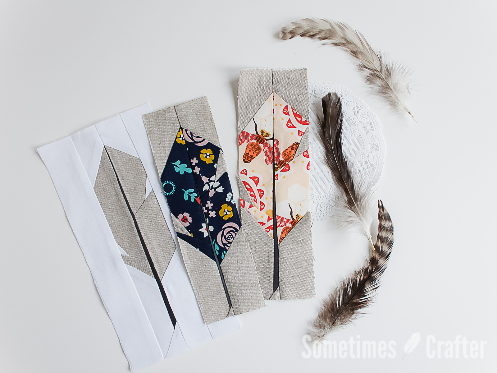 Feathers In The Wind Quilt Sometimes Crafter