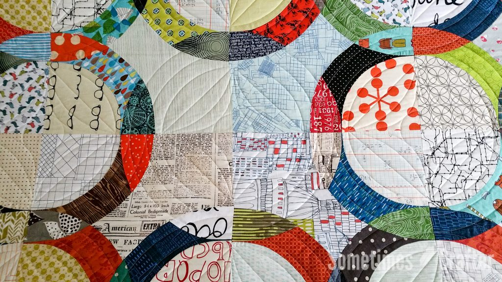 Sometimes Crafter Quilting // Melissa Everetts January Quilt