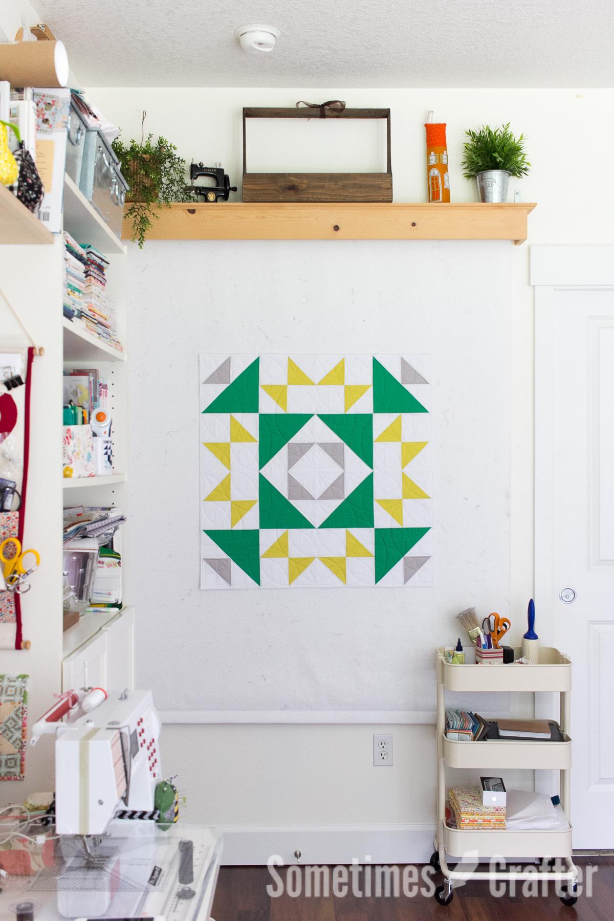 Sometimes Crafter // Cactus Garden Quilt Pattern