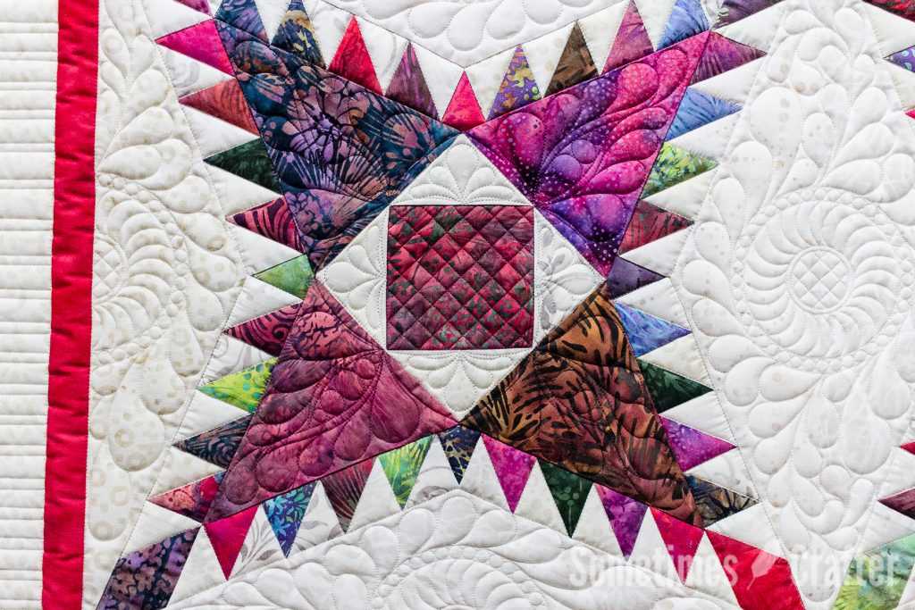 Sometimes Crafter Quilting // Feathered Star